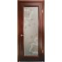 Дверь со стеклом Ена- Яблоневый цвет