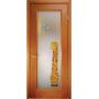 Дверь со стеклом Ена-Жираф