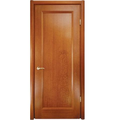 Дверь глухая Ена-жираф
