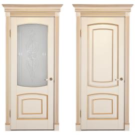 Дверь из массива ЕЛЕНА