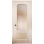 Дверь со стеклом  Вена (глухая нижн. филенка)