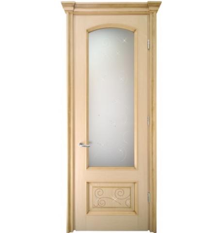 Дверь со стеклом Вена