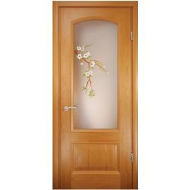 Дверь со стеклом Верона-Сакура
