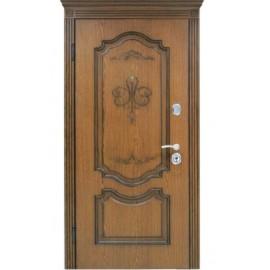 Входная дверь Престиж орех  (дуб+патина)980х2040
