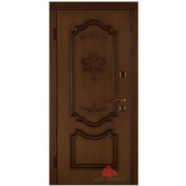 Входная дверь Престиж КСМ (ясень+патина) 880х2040