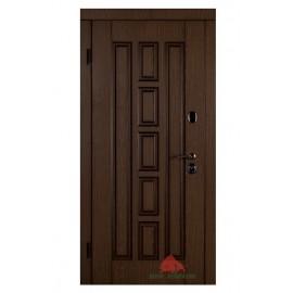 Входная дверь Квадро-В дуб+патина 980x2040х85