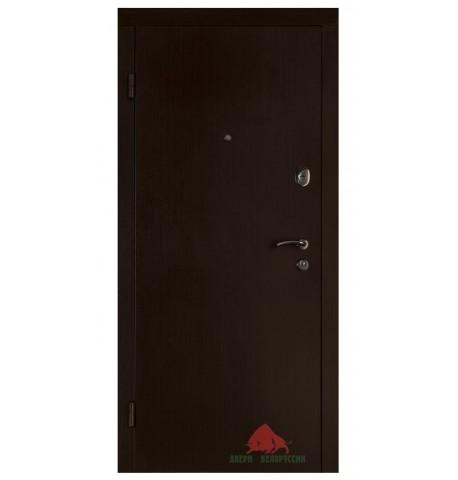 Входная дверь Гладь венге 960x2040х70