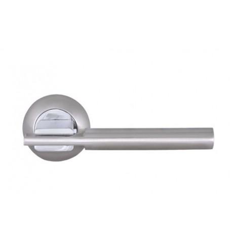 Дверная ручка Palladium A Rio SN/CP
