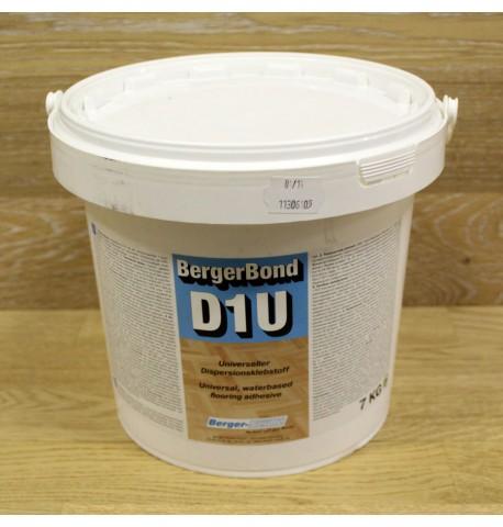Дисперсионный клей для ПВХ BergerBond D1U, 7 кг