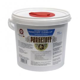 Parketoff Clean-Up. Высокоэффективные очищающие тканевые салфетки.